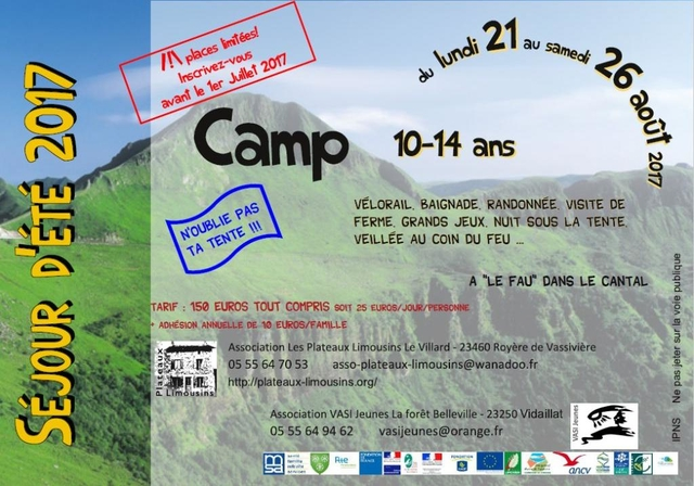 camp ado 2017
